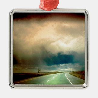 Nature Forces The Storm Looming Ahead.jpg Christmas Ornament