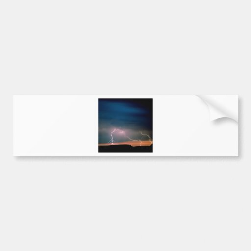 Nature Forces Unstable Atmosphere Bumper Stickers