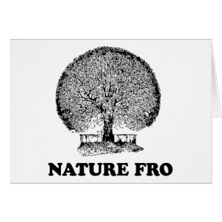 NATURE FRO GREETING CARD