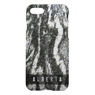 Nature Geology Feline Rock Texture Custom Name iPhone 7 Case