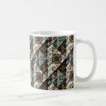 Nature Geometric Abstract Pattern Mug