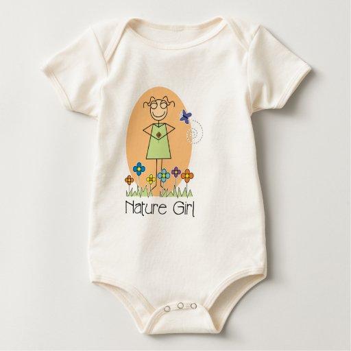 Nature Girl organic Baby Bodysuit