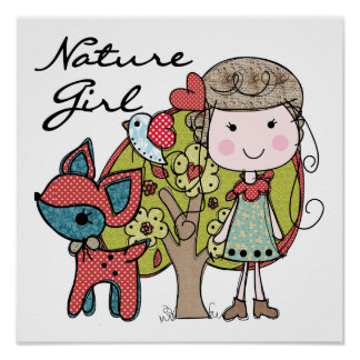 Nature Girl Posters