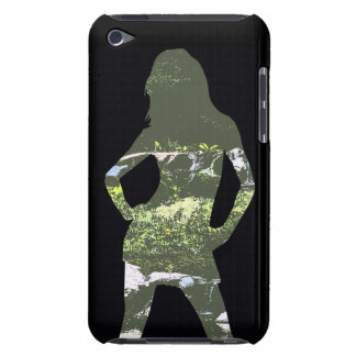 Nature Girl Silhouette iPhone Case iPod Touch Covers