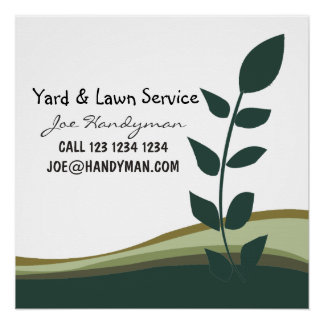 Nature Green Branch Yard Work Landscaping Business