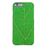 nature green tree leaf texture case barely there iPhone 6 case