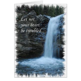 nature greetin card, encouragment card
