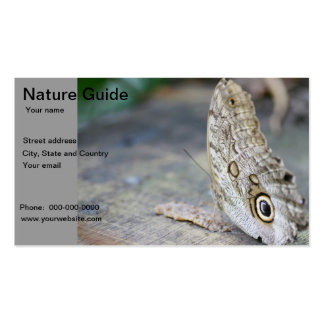 Nature guide business card