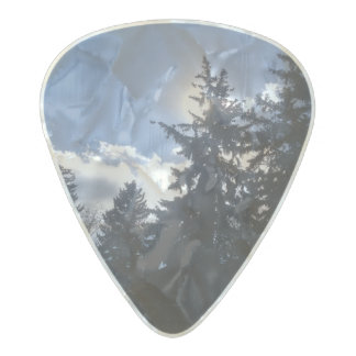 Nature guitar pick pearl celluloid guitar pick