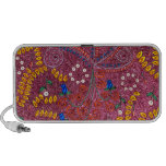 Nature In Chaos Floral And Leaves Travel Speaker