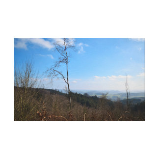 Nature in the mountains canvas print