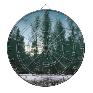 Nature Industrial Art Dart Board