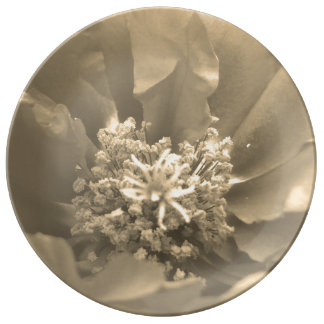 Nature Inspired Porcelain Plate