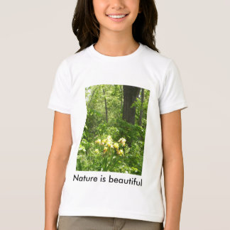 Nature is beautiful t-shirt for kids