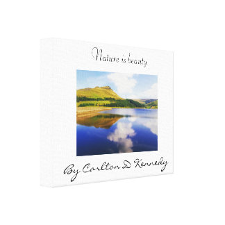 Nature is Beauty Canvas Print