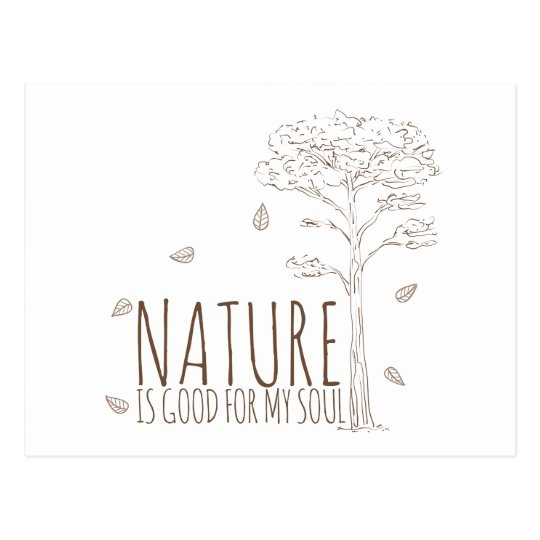 Nature is Good for my Soul - V2 Postcard