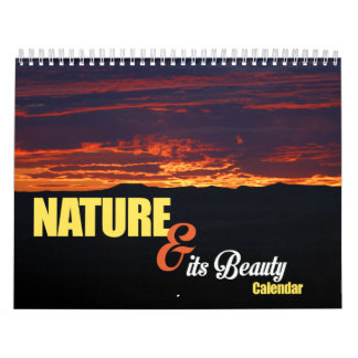 Nature & its Beauty Calendar