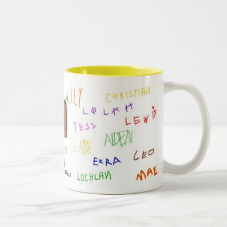 Nature Kids preschool Two-Tone Coffee Mug