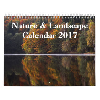Nature & Landscape Photography 2017 Wall Calendar