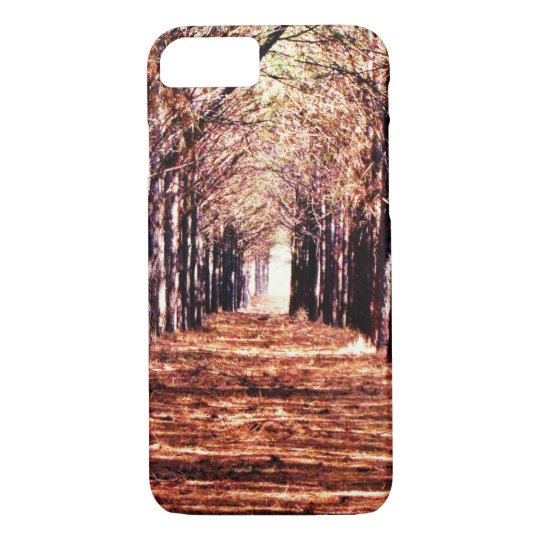 Nature Landscape Pine Trees Forest iPhone Case