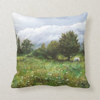 Nature landscapes cushion