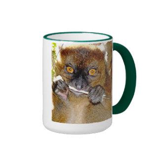 Nature:  Lemur Ringer Mug
