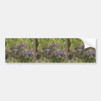 Nature Love GIFTS Green Flowers Sapling Purple FUN Bumper Sticker