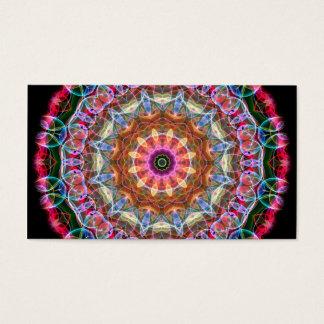 Nature Love kaleidoscope Business Card