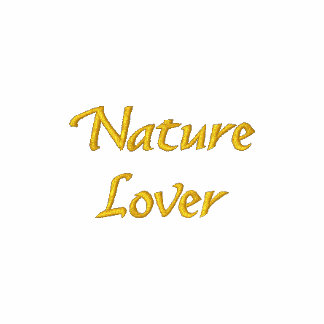Nature Lover Cute Embroidered T Shirt