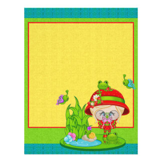 Nature Lover Frog Faery 21.5 Cm X 28 Cm Flyer