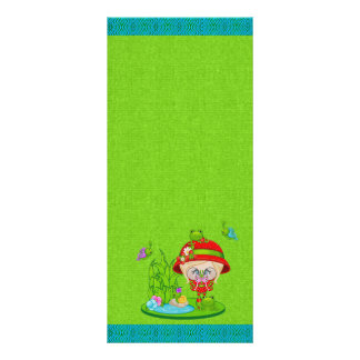 Nature Lover Frog Faery Personalized Rack Card