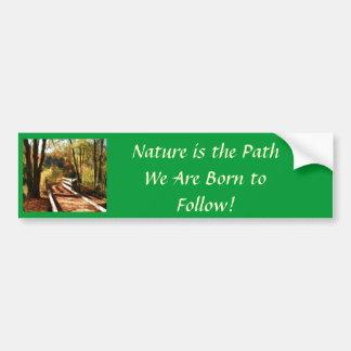 Nature Lover s bumper Sticker