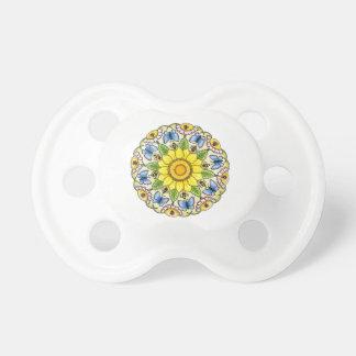 Nature Mandala Baby Pacifiers