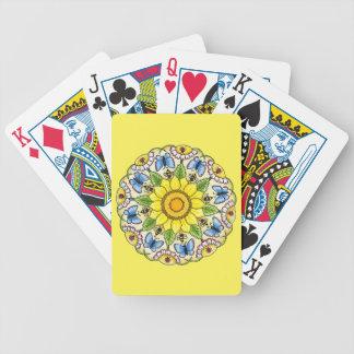 Nature Mandala Bicycle Playing Cards