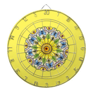 Nature Mandala Dartboard
