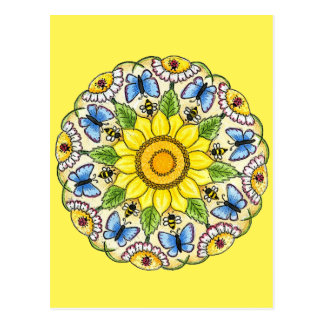 Nature Mandala Postcard