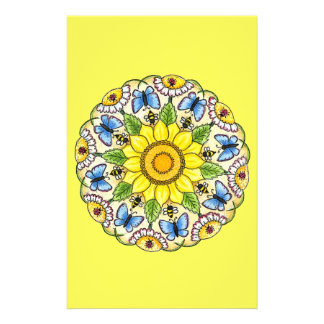 Nature Mandala Stationery