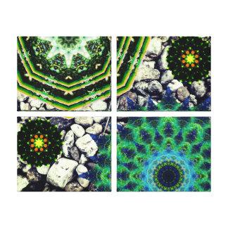 Nature Mandalas Canvas Print