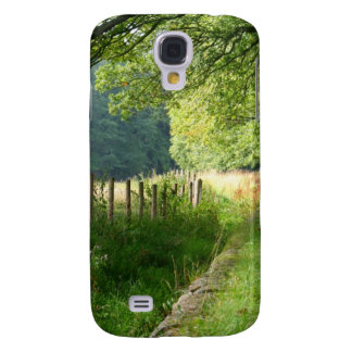 Nature meadow fence samsung galaxy s4 covers