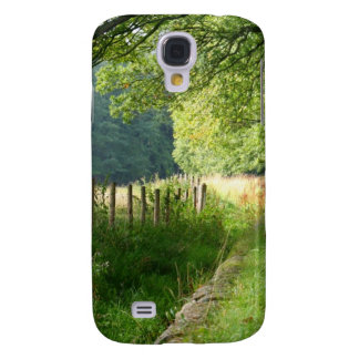 Nature meadow fence galaxy s4 cases