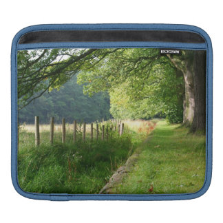 Nature meadow fence sleeves for iPads