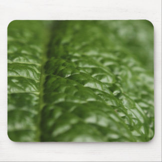 Nature Mouse Pad, Green Leaf Close-up Mouse Mat