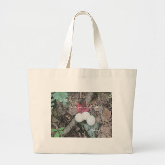 """Nature never goes out of style"" Jumbo Tote Bag"