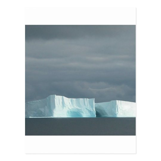 Nature Ocean Glacier Twins Postcard