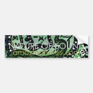 Nature of Sound Bumper Sticker