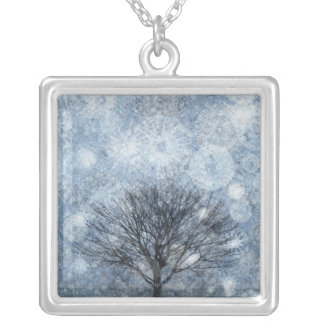Nature of Survival Silver Plated Necklace