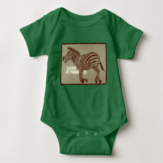 Nature of Things - 1966 promo graphic Baby Bodysuit