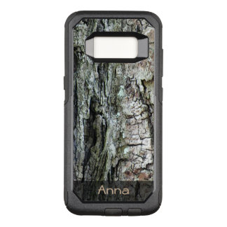 Nature Old Pine Bark Photo any Text OtterBox Commuter Samsung Galaxy S8 Case