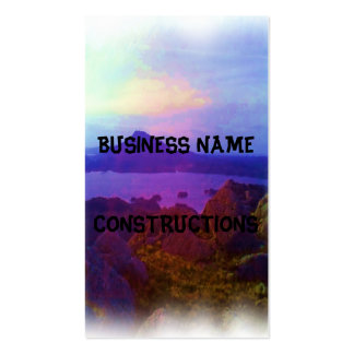 Nature photo art pack of standard business cards