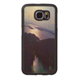 Nature photo wood phone case